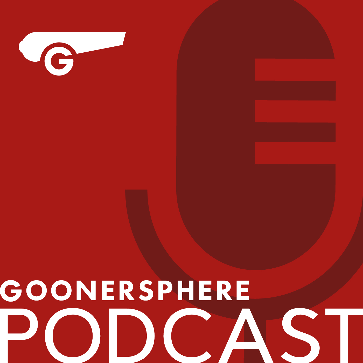 goonersphere podcast logo